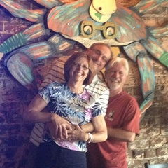 Photo taken at Fiddlers Crab House & Oyster Barn by Nancy K. on 6/14/2013