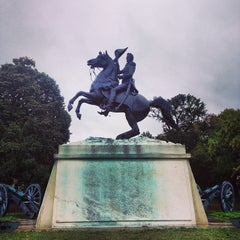 Photo taken at Andrew Jackson Statue by Terry L. on 10/11/2013