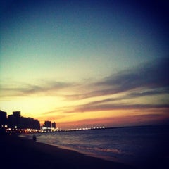 Photo taken at Avenida Beira Mar by Jonny S. on 11/3/2012