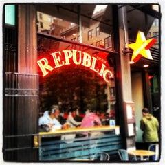 Photo taken at Republic by Republic on 11/7/2014