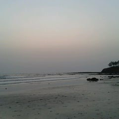 Photo taken at Kashid Beach by Chaitra S. on 4/13/2013