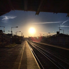 Photo taken at Grove Park Railway Station (GRP) by Nate P. on 1/10/2014