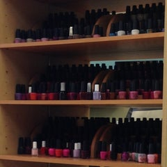 Photo taken at Oasis Nail Spa by Steffi S. on 4/11/2013