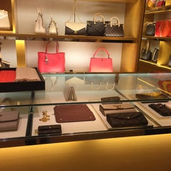 Photo taken at Louis Vuitton by Oznur U. on 4/19/2015