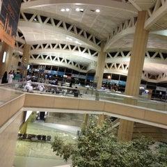 Photo taken at King Khalid International Airport (RUH) مطار الملك خالد الدولي by Zaid A. on 7/16/2013