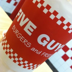 Photo taken at Five Guys by Samantha S. on 4/16/2013