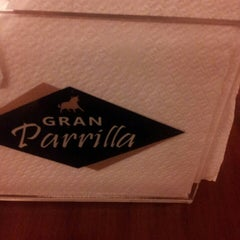 Photo taken at Gran Parrilla by Luciana L. on 5/19/2013