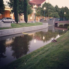 Photo taken at Park Place Fountain Stream by Yue T. on 6/27/2013