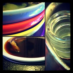 Photo taken at YO! Sushi by Anto C. on 3/15/2013