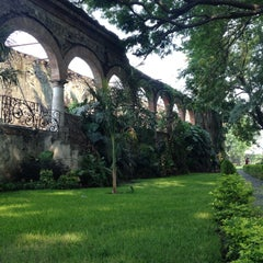 Photo taken at Ex-Hacienda Casasano by Daniel E. on 5/19/2013