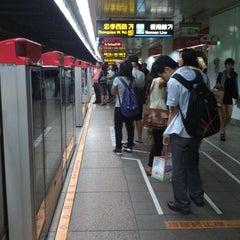 Photo taken at 捷運台北車站 MRT Taipei Main Station by Xanga K. on 10/27/2012