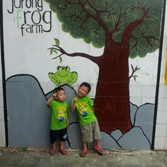 Photo taken at Jurong Frog Farm by Jack C. on 11/2/2013