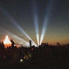 Photo taken at Orange Stage by Mai on 7/3/2015