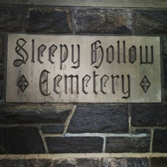 Photo taken at Sleepy Hollow Cemetery by Jessica H. on 5/19/2013