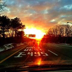Photo taken at Long Island Expressway (LIE) (I-495) by Nyu N. on 2/28/2013