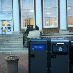 Photo taken at Alderman Library by Jasmine M. on 12/30/2013