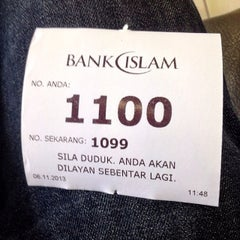 Photo taken at Bank Islam by Fizie I. on 11/6/2013