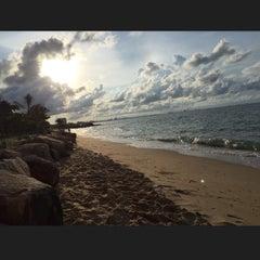 Photo taken at Royal Phala Cliff Beach by Niyom S. on 5/10/2015