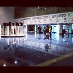 Photo taken at Aeropuerto Internacional Augusto C. Sandino by Johann P. on 7/11/2012