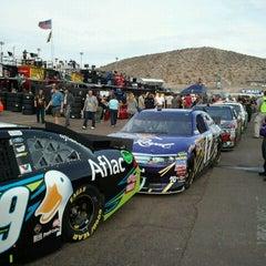 Photo taken at Phoenix International Raceway by Tanya W. on 11/13/2011