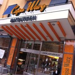 Photo taken at Cajsa Warg by Erik M. on 3/17/2012