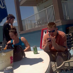 Photo taken at Riptide Pool Bar And Grill by Gregory D. on 6/15/2012