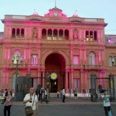 Photo taken at Plaza de Mayo by Roberto José H. on 3/6/2012