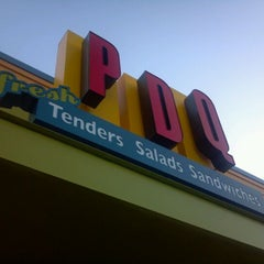 Photo taken at PDQ Tenders Salads & Sandwiches by Mike J. on 3/2/2012