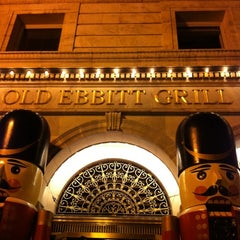 Photo taken at Old Ebbitt Grill by John G. on 11/29/2011