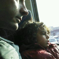 Photo taken at North Bergen Park and Ride by marc c. on 12/16/2011