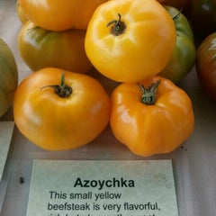 Photo taken at West Seattle Farmers Market by Victoria B. on 9/11/2011