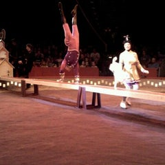 Photo taken at Big Apple Circus by Mario L. on 6/7/2012
