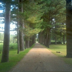 Photo taken at Stockbridge Cemetery by Peter W. on 9/28/2011