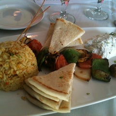 Photo taken at Aegean Mediterranean Grille by Doug M. on 3/21/2012