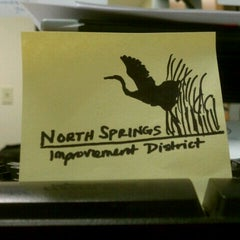 Photo taken at North Springs Improvement District by Kerri N. on 8/9/2011