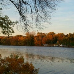 Photo taken at Riverside Park Kiwanis Trail by Becca M. on 10/7/2011