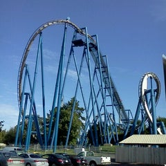 Photo taken at Carowinds by Rae A. on 9/1/2012