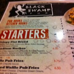 Photo taken at Black Swamp Pub by Jasmine B. on 1/14/2012