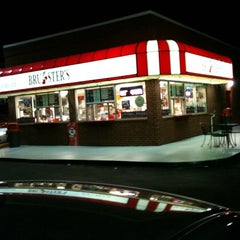 Photo taken at Brusters Ice Cream by Justin M. on 5/12/2011
