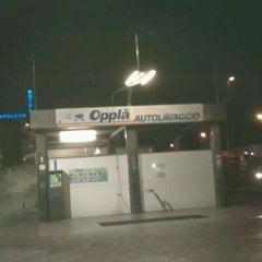 Photo taken at autolavaggio oppla' by Gianluca M. on 2/24/2012