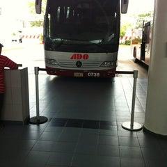 Photo taken at Terminal de Autobuses ADO by Lucio L. on 5/26/2012