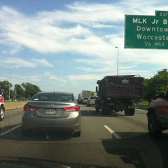 Photo taken at I-290 by Amber G. on 7/19/2012