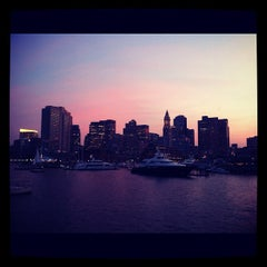 Photo taken at Inner Harbor by Gautham N. on 8/25/2012