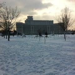 Photo taken at Parcul Izvor by mode s. on 1/30/2012