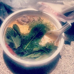 Photo taken at Soup Junkie by merredith l. on 7/9/2012