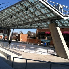 Photo taken at Silver Spring Ice Rink at Veterans Plaza by Charlie K. on 2/28/2012