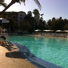 Photo taken at Hard Rock Hotel Beach Pool by Lisa P. on 3/18/2012