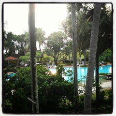 Photo taken at Thavorn Palm Beach Resort by Alexander S. on 5/24/2012
