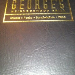 Photo taken at George's Neighborhood Grill by Kristi A. on 8/8/2012