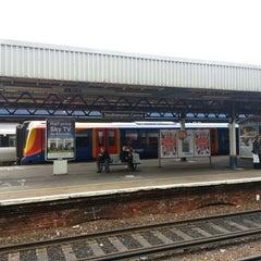 Photo taken at Southampton Central Railway Station (SOU) by Vincent R. on 6/21/2012
